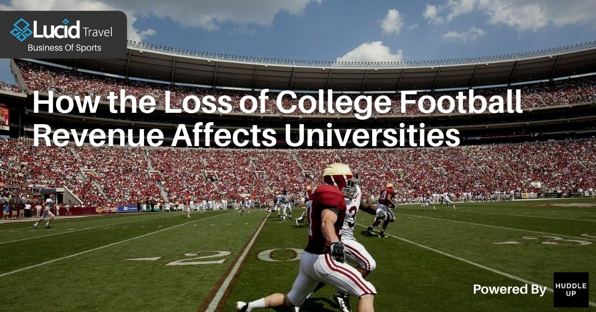 How the Loss of College Football Revenue Affects Universities
