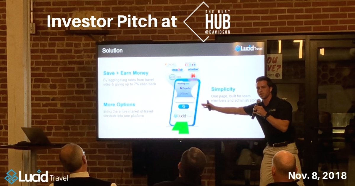 Lucid Travel Investor Pitch