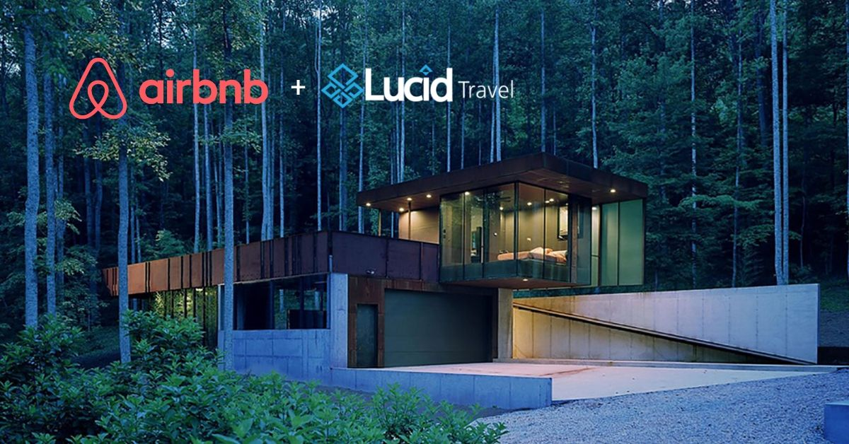 Lucid + Airbnb | Now, you can book homes too...