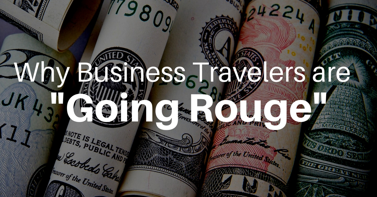 Why Business Travelers Are 'Going Rouge'