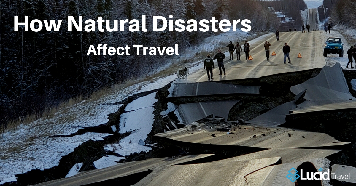 How Natural Disasters Affect Travel