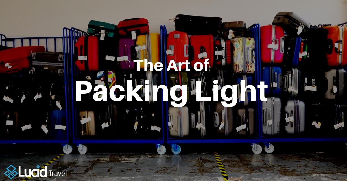 The Art of Packing Light