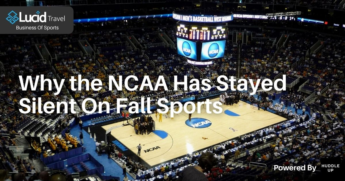Why the NCAA Has Stayed Silent On Fall Sports