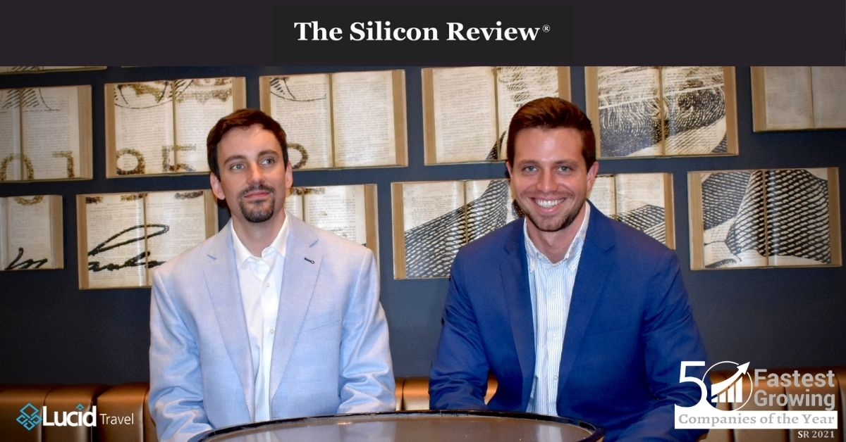 Silicon Review Names Lucid Travel 50 Fastest Growing Companies of the Year 2021